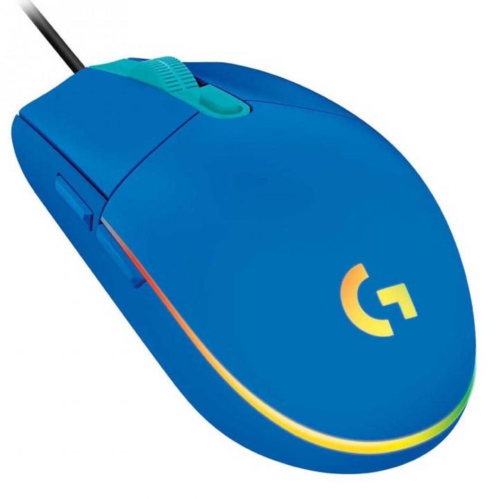 Компьютерная игровая мышка с подсветкой LOGITECH G203 LIGHT SYNC